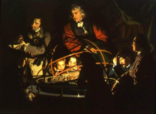 A-Philosopher-Lecturing-on-the-Orrery-by-Joseph-Wright-of-Derby